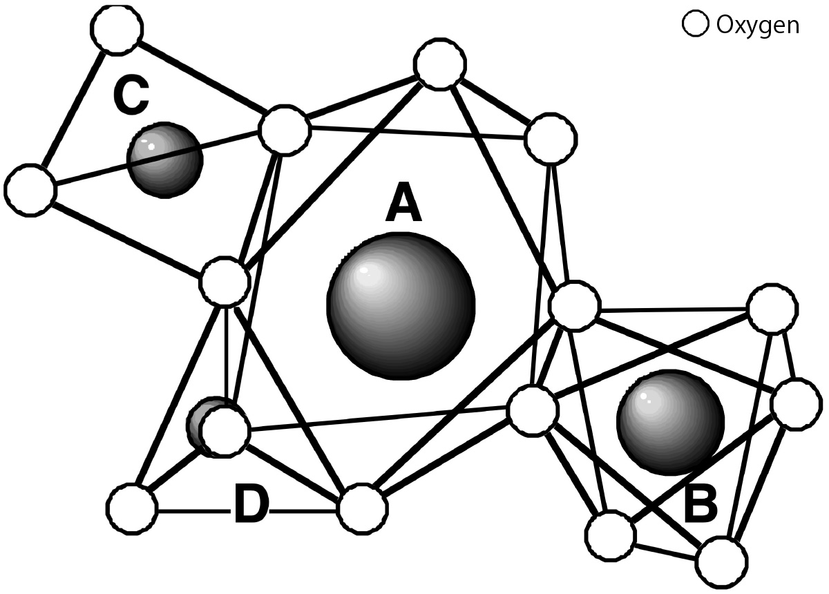 Langasite structure