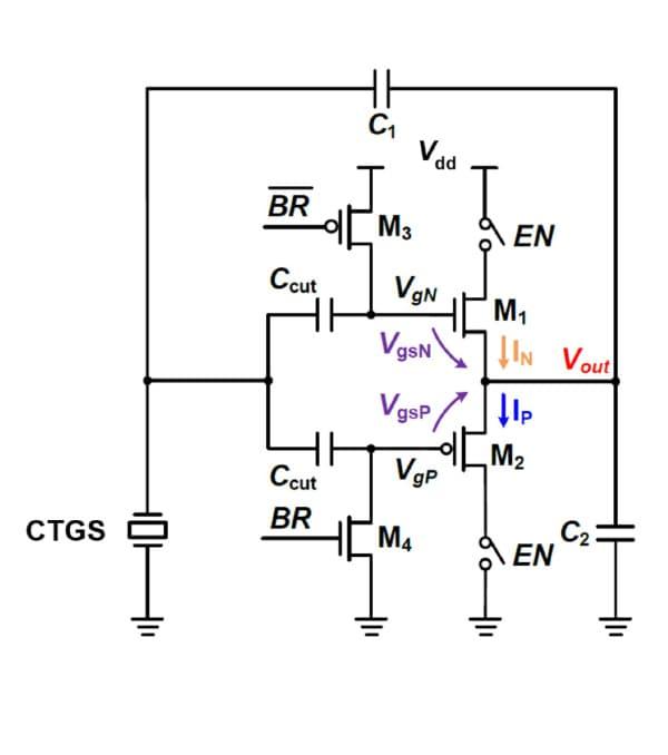 Ultra-low power consumption oscillator circuit